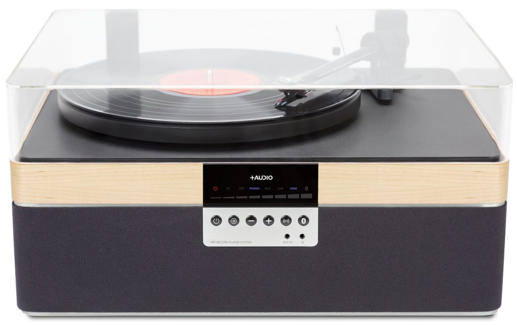 Plus Audio Record 1024x643 All In One Turntables Offer A Modern, Minimalist Introduction To Vinyl
