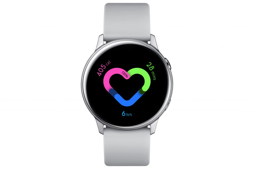 04. Galaxy Watch Active Silver 1024x683 REVIEW: Samsung Galaxy Watch Active, Fitness & Connectivity Combined