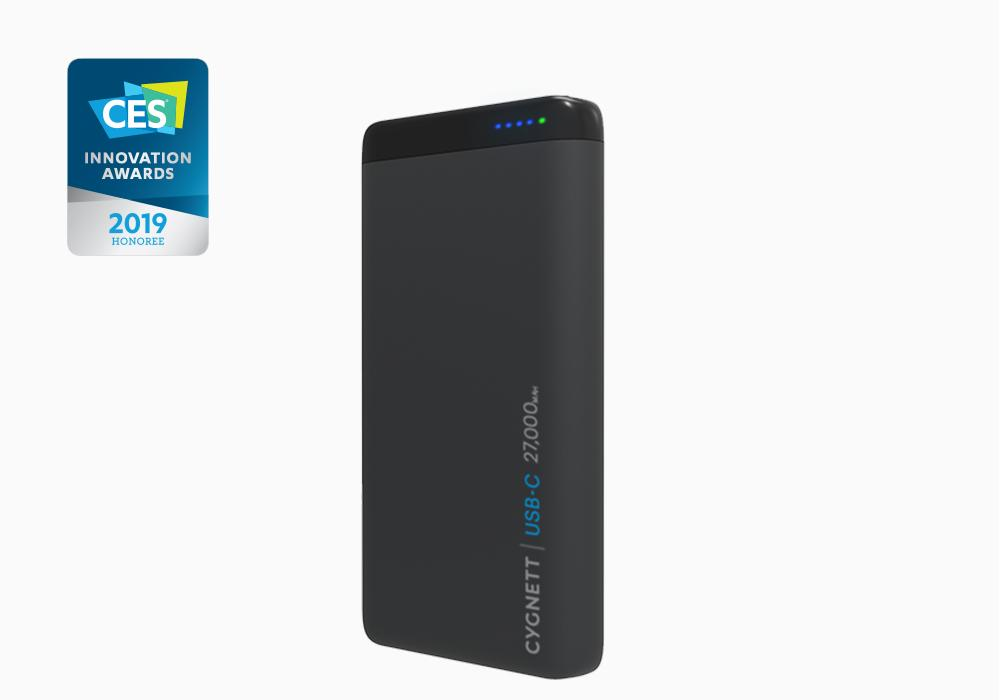 ChargeUp Pro 27k with CES honour 1024x1024 REVIEW: Cygnett 27,000 mAh ChargeUp Pro, The Ultimate Charging Companion