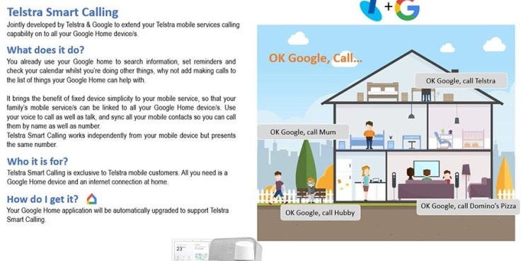 Telstra Smart Calling 1 Telstra Testing Google Home Smart Calling?