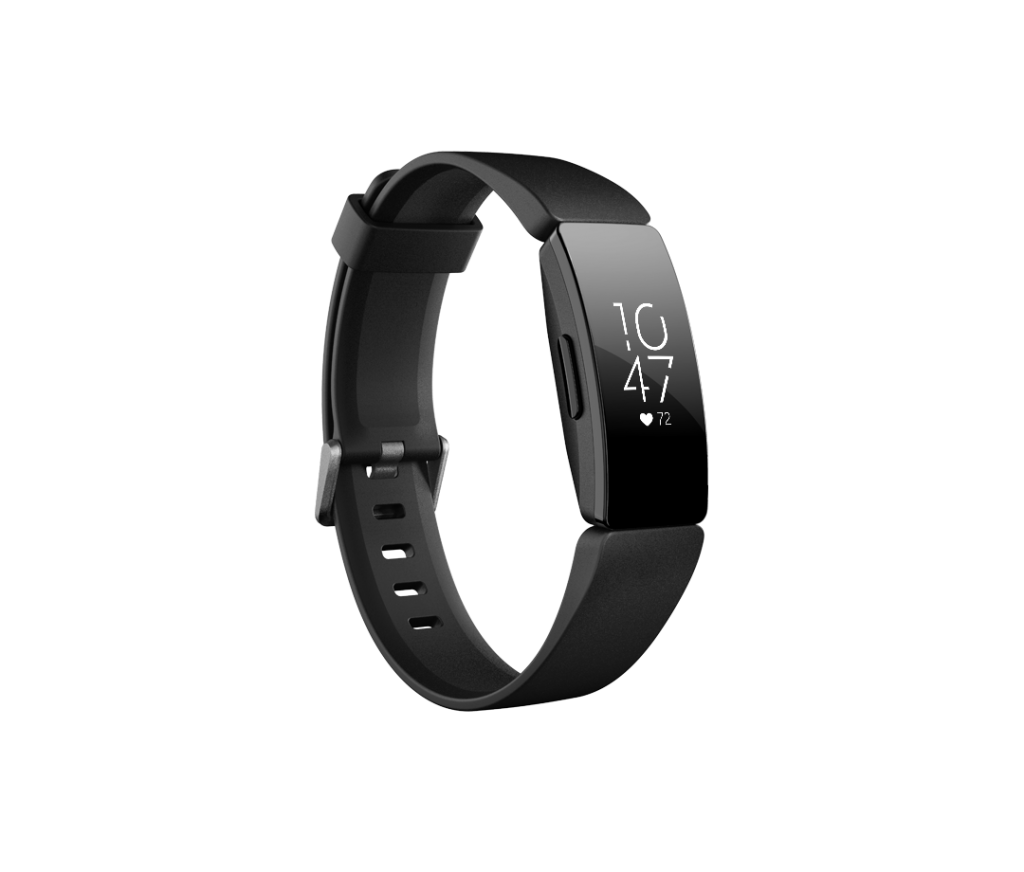 inspirehr black 0 f94785486bdda8a916d2afd3ae983d5e 1024x872 REVIEW: Fitbit Inspire HR   Sleek & Simple