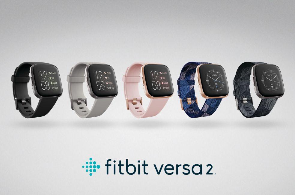 Fitbit Versa 2 family Fitbit Unveils Alexa Supported Versa 2 Smartwatch