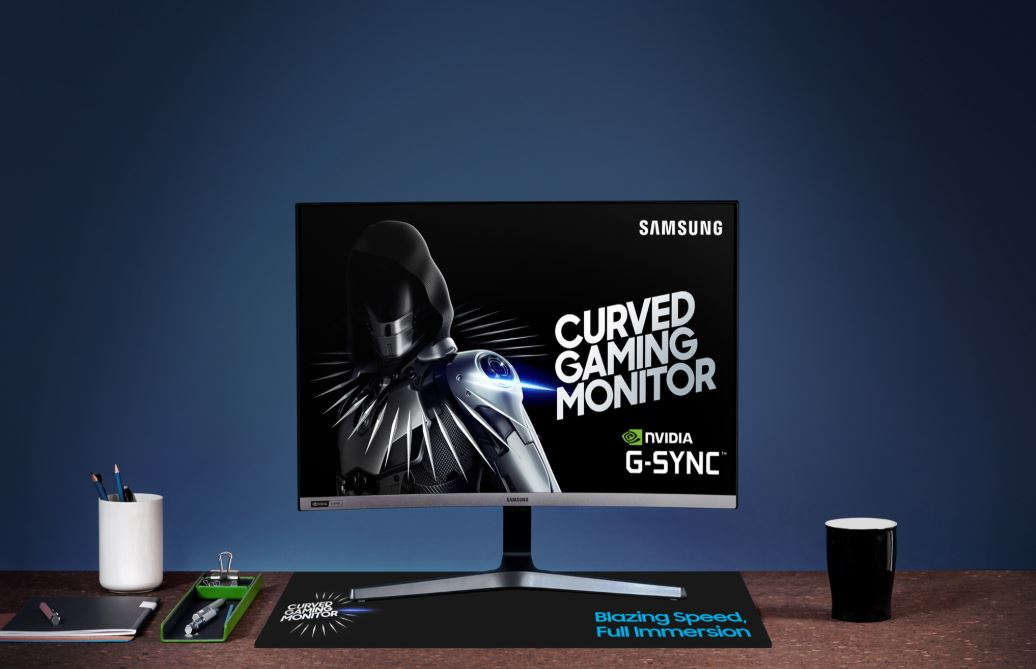 Samsung 6 Samsung Debut World First 240Hz Curved Gaming Monitor