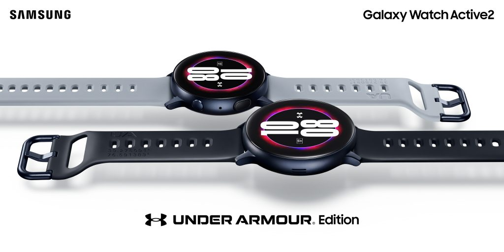 Watch Active2 UA1 Samsung Unveil Galaxy Watch Active2 Under Armour Edition