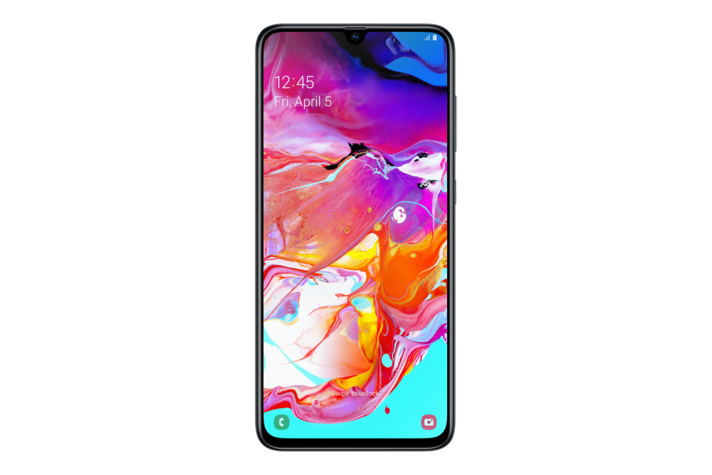 au galaxy a70 a705 sm a705yzknxsa frontblack 170822374 1024x683 REVIEW: Samsung A70 Almost A Flagship At Half The Price
