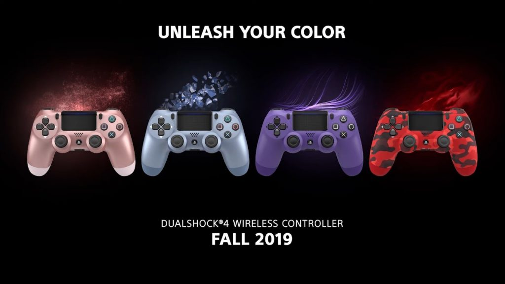 new dualshock 4 range PlayStation Launch New DualShock Controllers