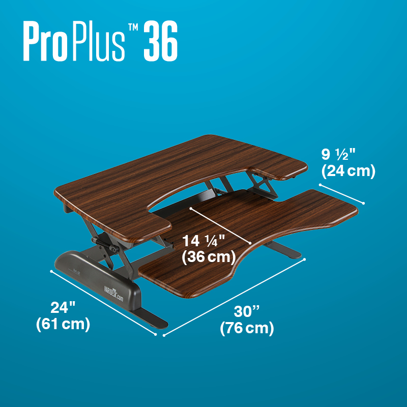 varidesk proplus 36 dark wood dimensionsb074b4d9eef66cbc9309ff1200d93b41 REVIEW: VariDesk ProPlus36 Stands Up To Be Counted