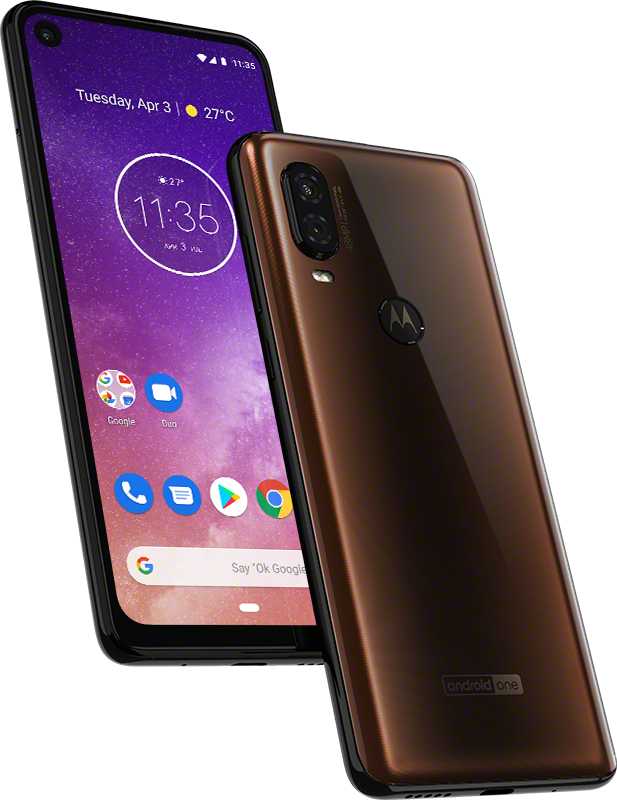 Motorola one Vision ROW Bronze Gradient PDP Hero 1 REVIEW: Motorola One Vision Joins Mid Tier Chorus