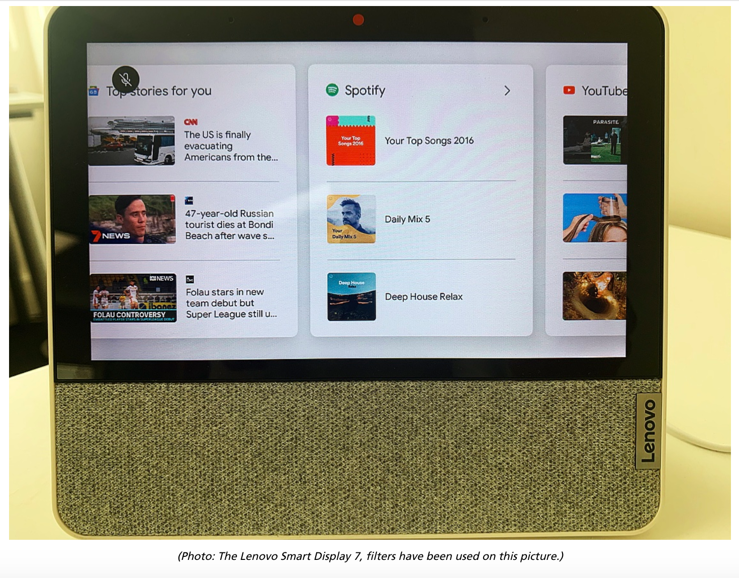 Screen Shot 2020 02 20 at 8.56.06 am Review: Lenovo Smart Display 7 Impressive But Compromised By Limitations