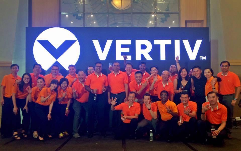 vertiv data center solutions Tech Data inks Vertiv distie deal
