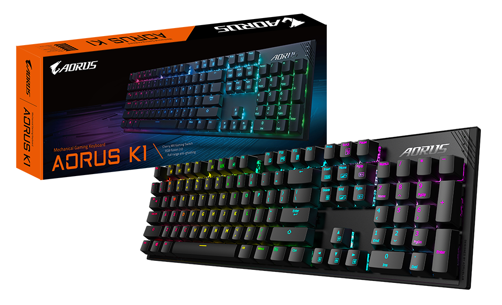 Gigabyte AORUS K1 Gigabyte Launches Mechanical Gaming Keyboard – The AORUS K1