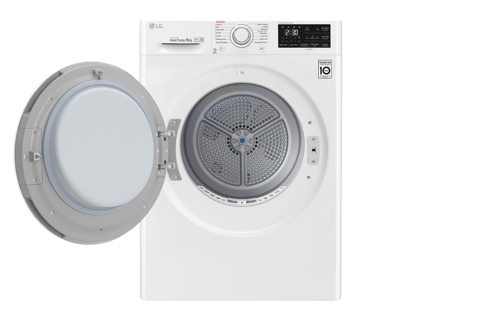 LG Heat Pump Dryer LG's Four New Eco Friendly Clothes Dryers With Smart Technology