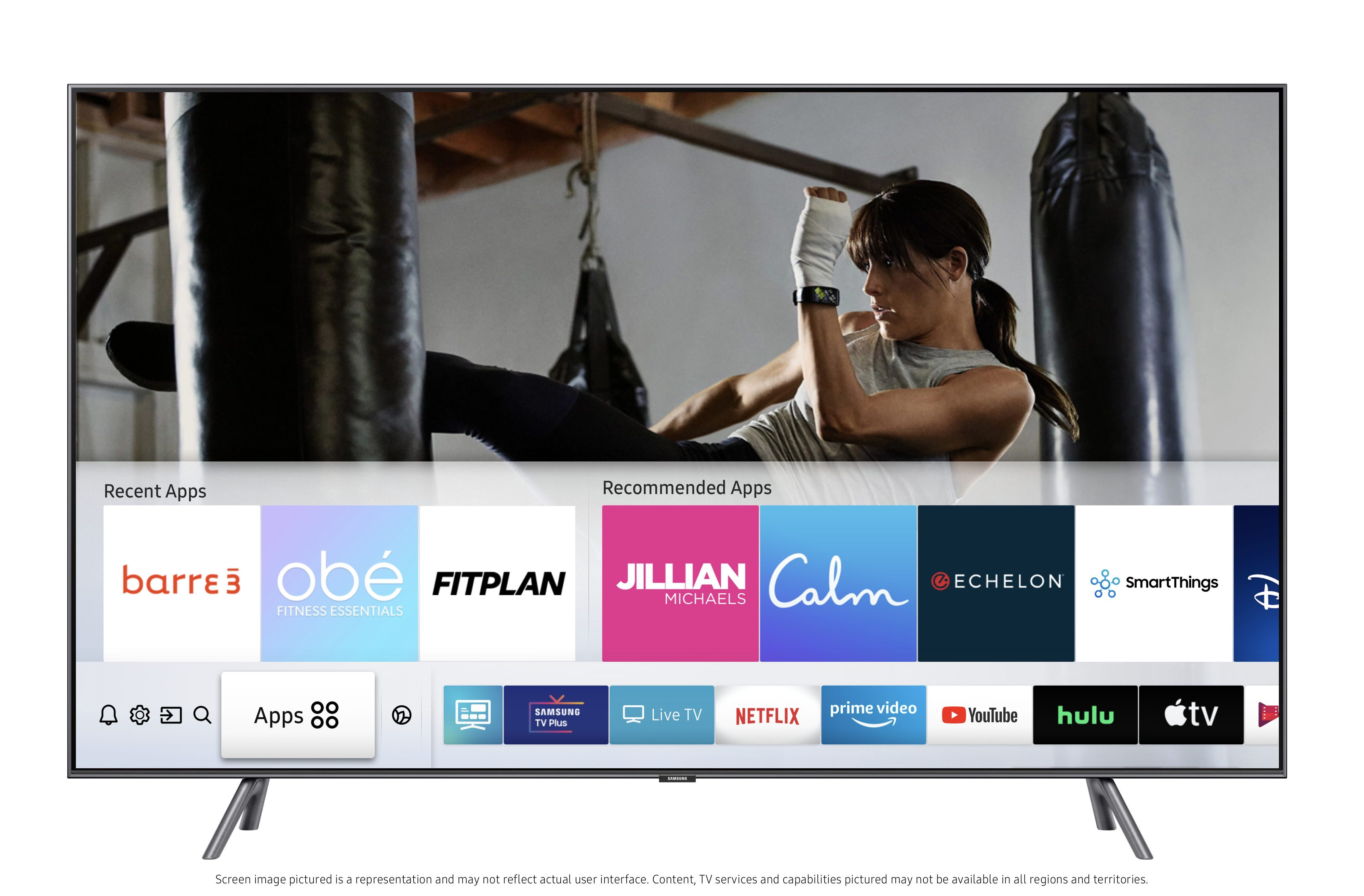Samsung Smart TVs fitness titak Samsung Smart TV Owners Given Free Access To Health & Fitness Plans