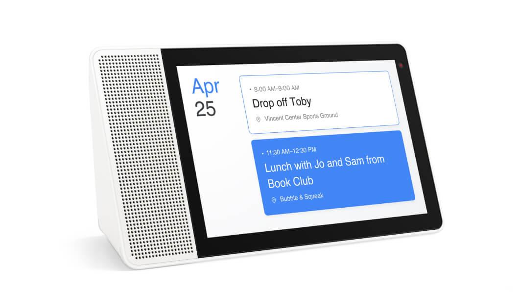 "lenovo smart display 10 reminder Lenovo Smart Display 10"" With Google Assistant Making Multi Tasking Easier During COVID 19"