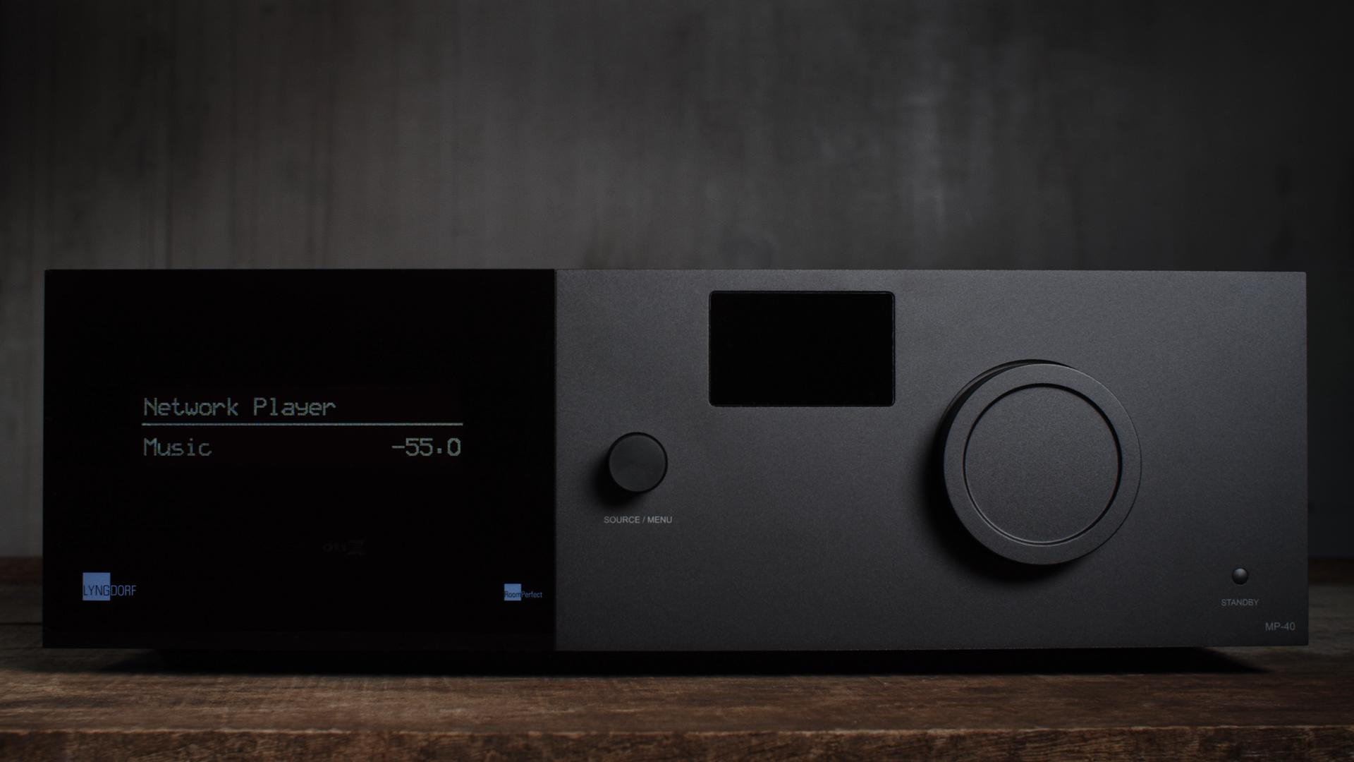 MP 40 12 front2 Lyngdorf Audio Unveils Surround Sound Processor MP 40