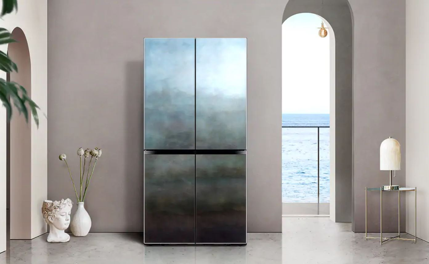 Samsung New Chef Collection Mare Blue Samsung Unveil Italian Artisan 'New Chef Collection' Fridges