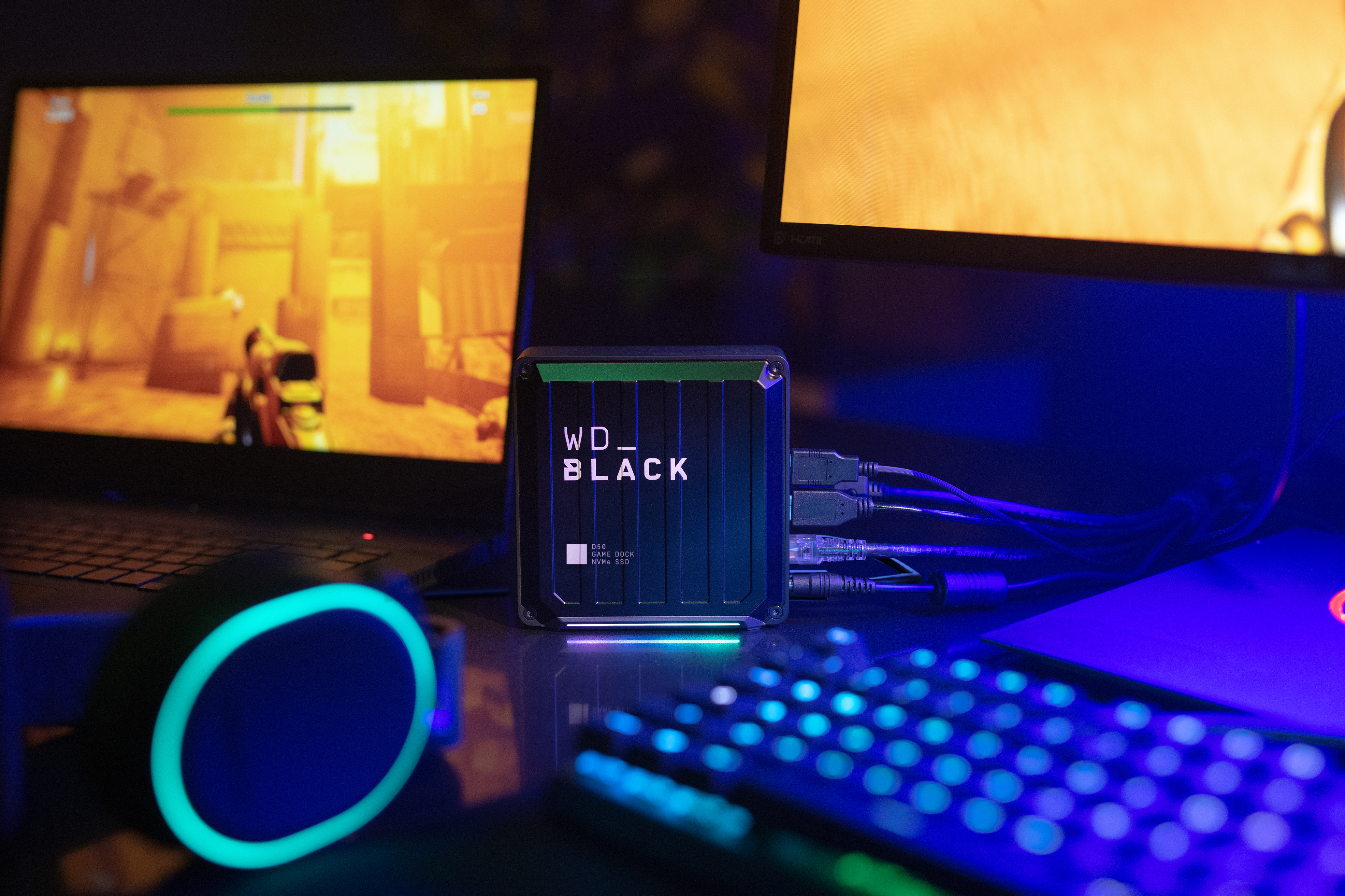 WD BLACK D50 Western Digital Launches Three Powerful Gaming Storage Solutions