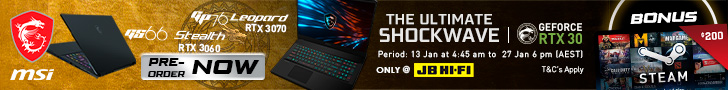 JBHIFI Pre order Ampere 728 x 90 media Logitech's 63g G Pro X Is Its Lightest Gaming Mouse