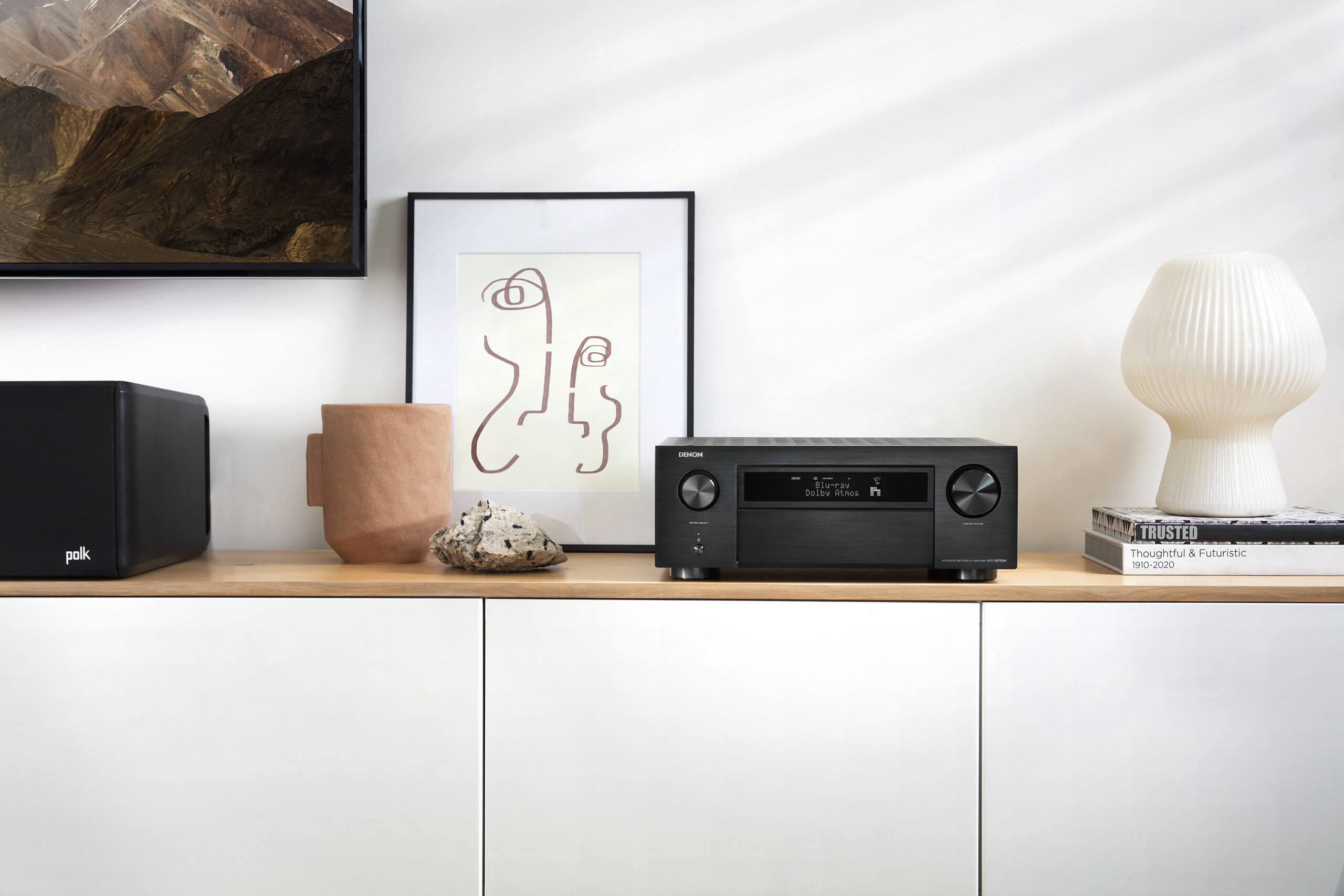 Denon AVR X6700 Black Lifestyle2 E2 scaled Denon Launches Five New Home Theatre AV Receivers
