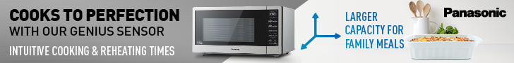 PAN1992 MWO Banners LB 728x90px V2 Panasonic Microwave Promo For Mothers Day
