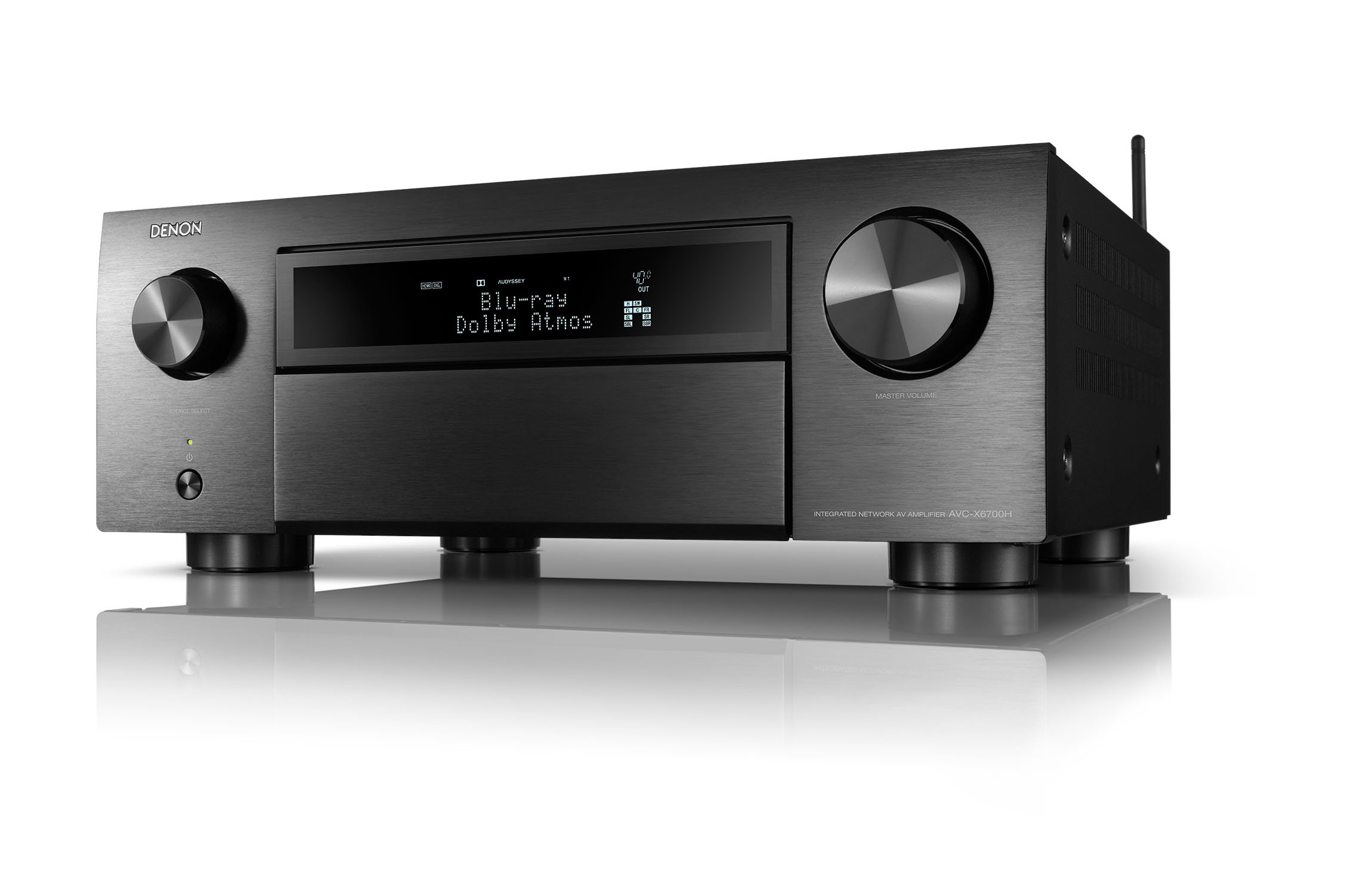 de avc x6700h e2 e1c bk left 001 lo Denon Launches Five New Home Theatre AV Receivers
