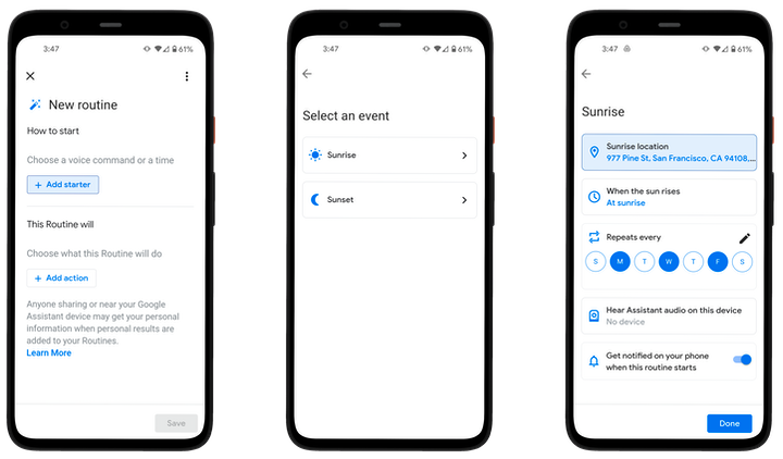 google routines Google Assistant Beefs Up Phone Finding, Smart Routines