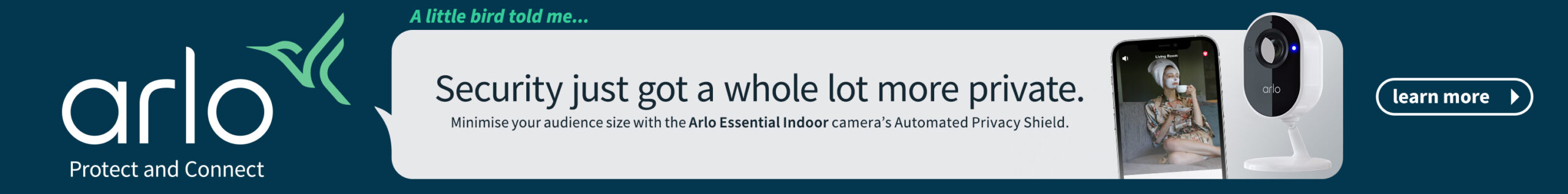ARL0355 Arlo ESS Indoor Generic Banner 728x90 V4 scaled REVIEW: Its A Persuasive Package But Willl LGs Smaller Screen FPR Tech TV Grab Viewer Appeal?