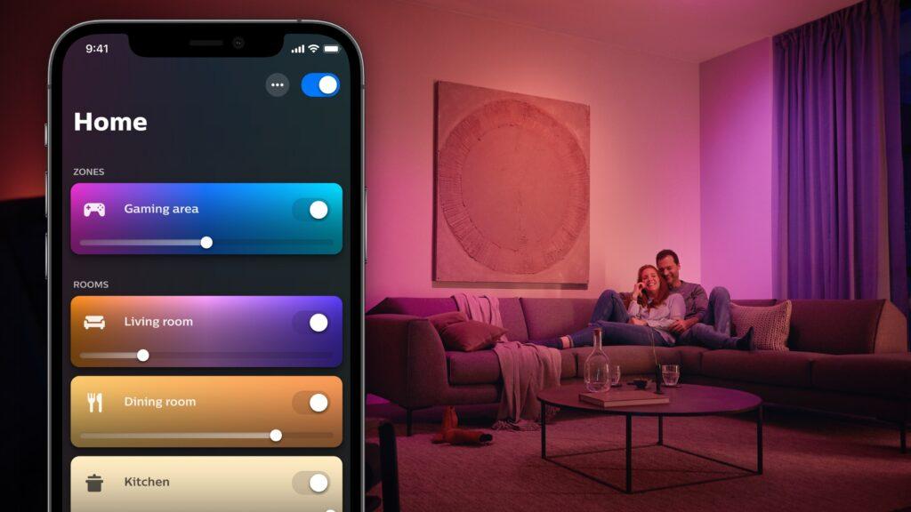 hue app4 home 1024x576 Philips Hue App Gets Big Revamp