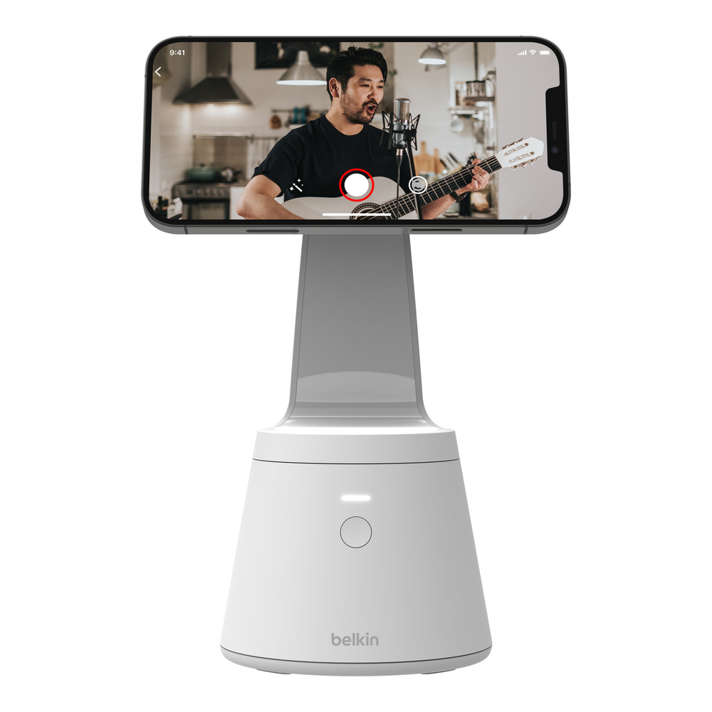1. Magnetic Phone Mount with Face Tracking Product Image Belkin Rolls Out New MagSafe Charger Range