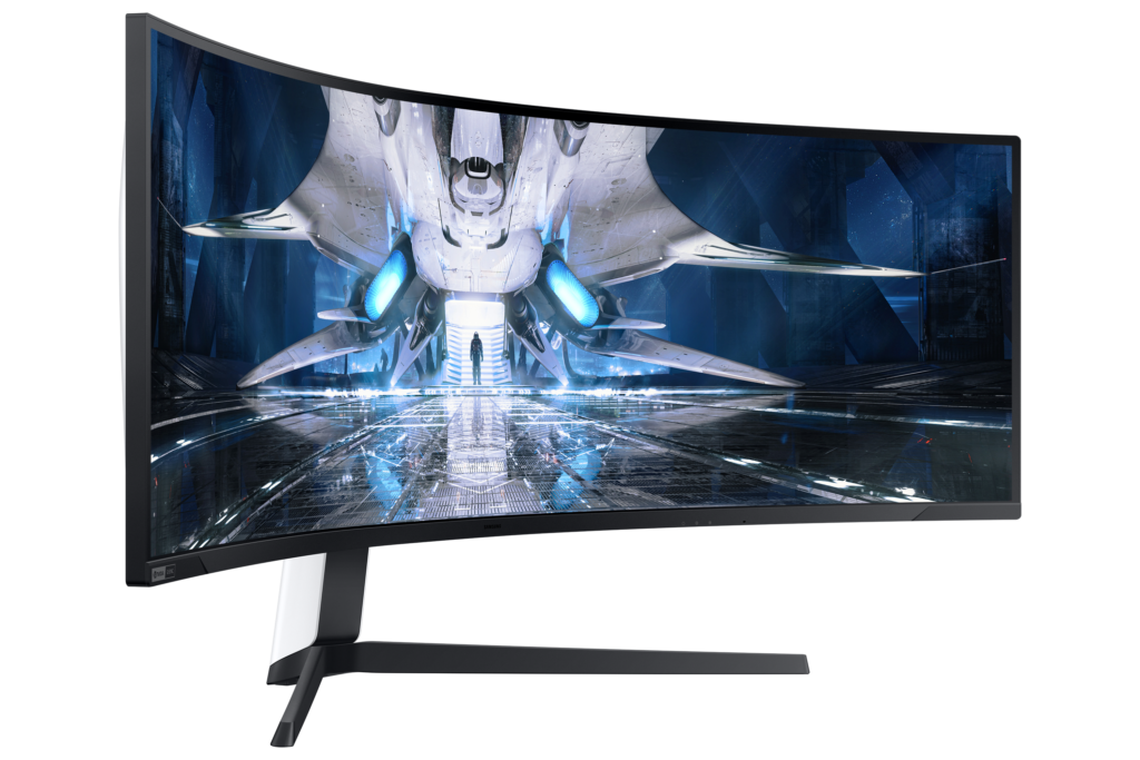 S49AG950NM 006 L Perspective White 5585581 1024x683 Samsung Rolls Out Ultra Wide Mini LED Gaming Monitor