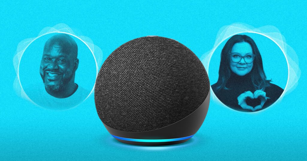 %name Shaq and Melissa McCarthy Can Now Voice Your Alexa
