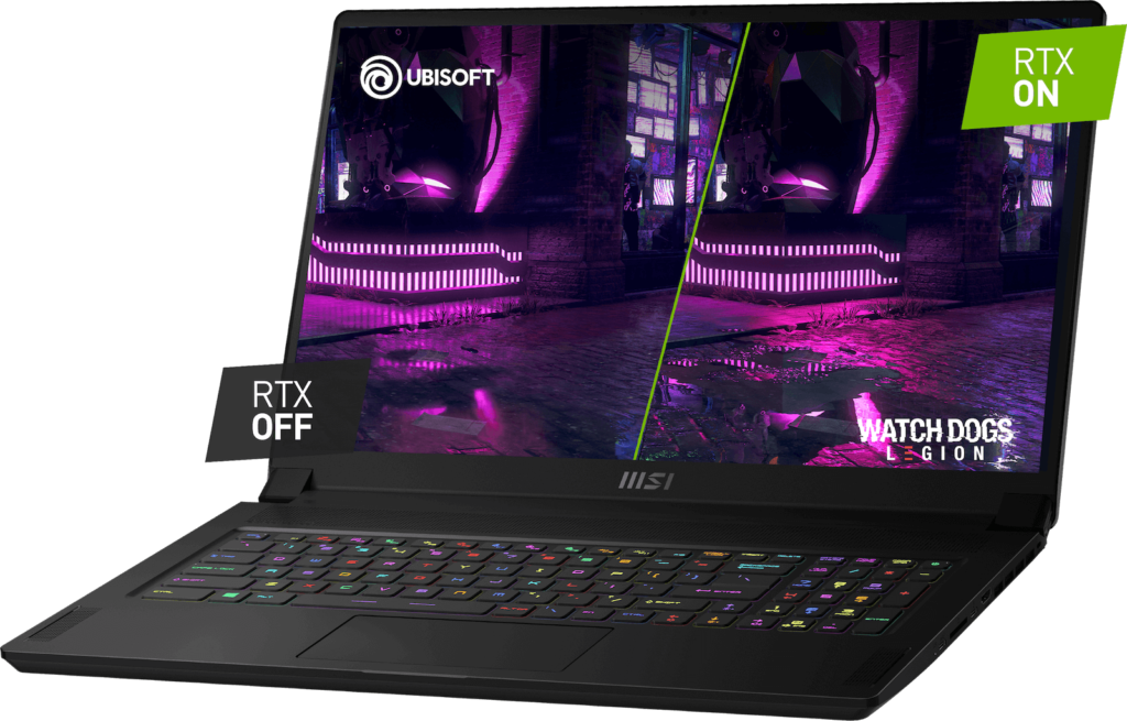 gpu RAY 1024x655 REVIEW: MSI GS76 Stealth – There's No Hiding This Dragon