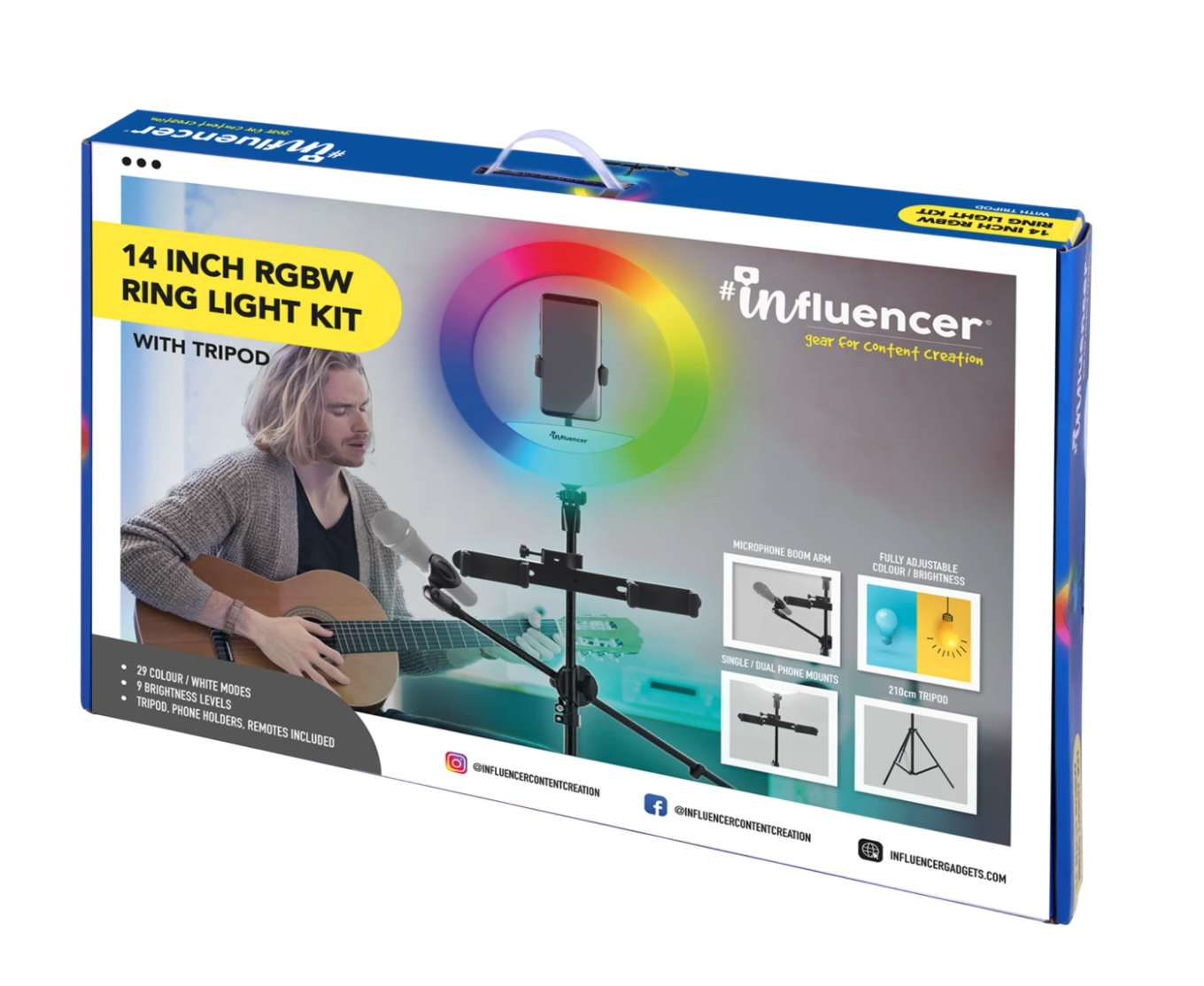 Screen Shot 2021 10 22 at 12.14.42 pm Review: Influencer RGB Ring Light Brings The Production Crew To You
