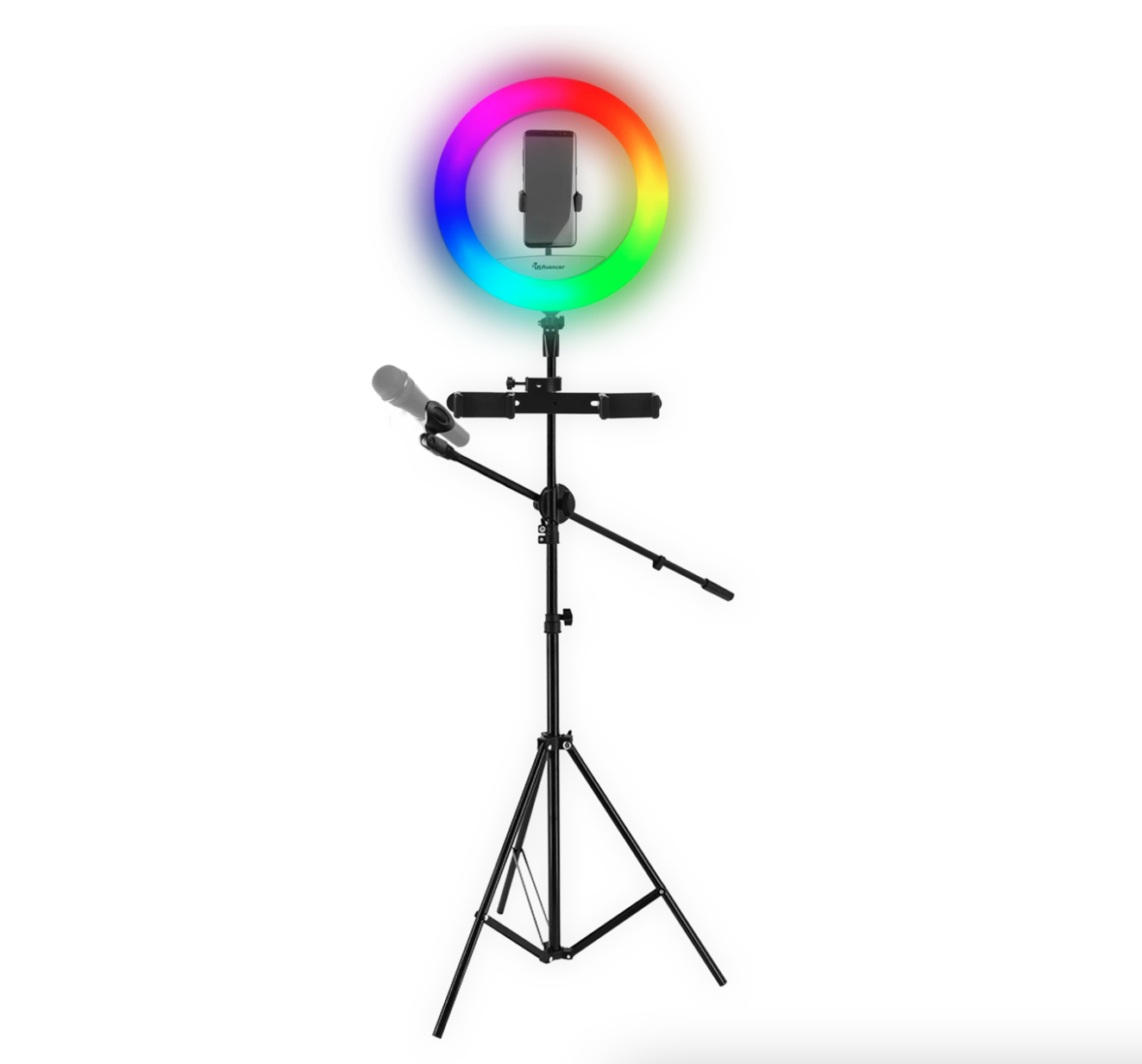 Screen Shot 2021 10 22 at 12.14.51 pm Review: Influencer RGB Ring Light Brings The Production Crew To You